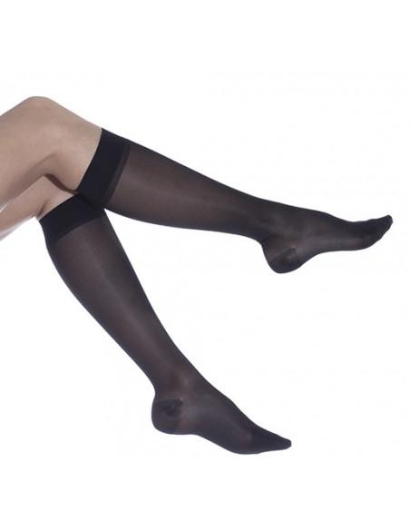 Faciliter circulation sanguine jambes avec les mi-bas Cadence 140 deniers